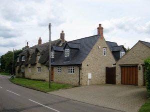 Grade II listed development in Grendon.