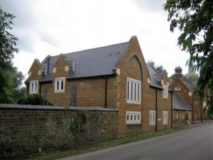 Grade II listed building development in Finedon Conservation Area