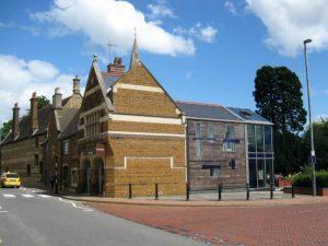 Grade II listed development in Wellingborough Conservation Area